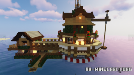 Скачать House on the Water для Minecraft