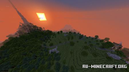 Скачать Small Medieval Town on Island для Minecraft
