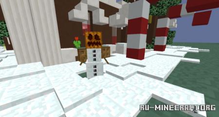 Скачать House Cookies Christmas для Minecraft