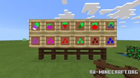 Скачать MoreBush для Minecraft PE 1.13