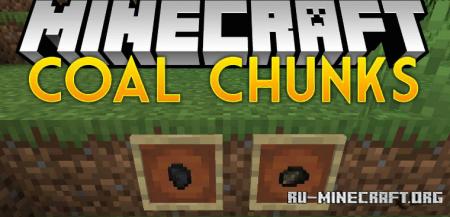Скачать Coal Chunks для Minecraft 1.14.4