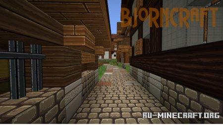 Скачать BjornCraft [64x] для Minecraft 1.12