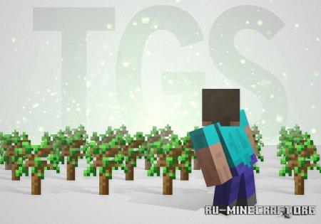 Скачать Tree Growing Simulator для Minecraft 1.14.4