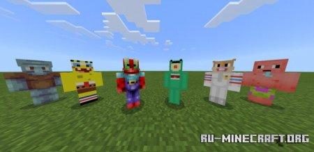 Скачать Spongebob для Minecraft PE 1.13