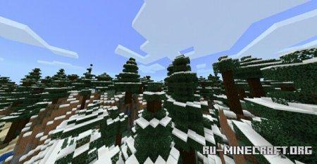Скачать Magnificent Biomes для Minecraft PE 1.14