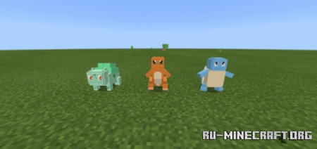 Скачать PocketMon для Minecraft PE 1.13