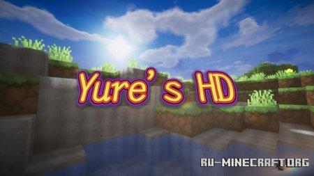 Скачать Yure's HD [256x] для Minecraft 1.14