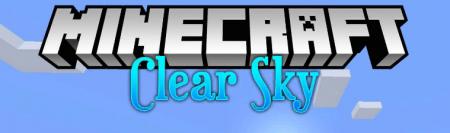 Скачать Clear Skies для Minecraft 1.15