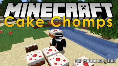 Скачать Cake Chomps для Minecraft 1.15