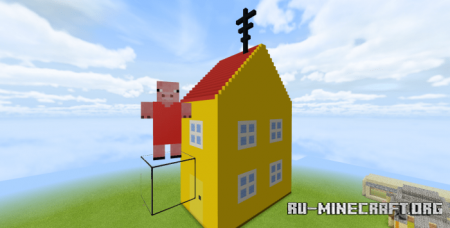Скачать Peppa Pig для Minecraft PE 1.14