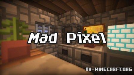 Скачать Mad Pixels [16x] для Minecraft PE 1.15