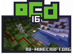 Скачать oCd Resource [16x]  для Minecraft 1.13