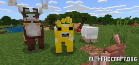 Скачать Minecraft Earth Mobs Plus для Minecraft PE 1.14