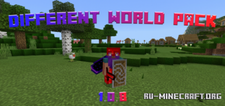 Скачать Different World [16x16] для Minecraft PE 1.14