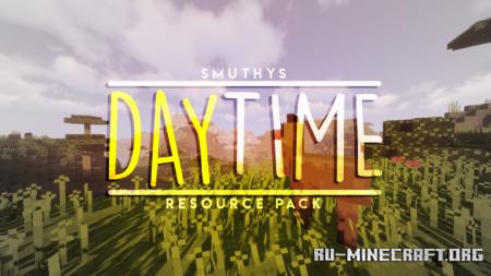 Скачать Daytime [16x] для Minecraft 1.15