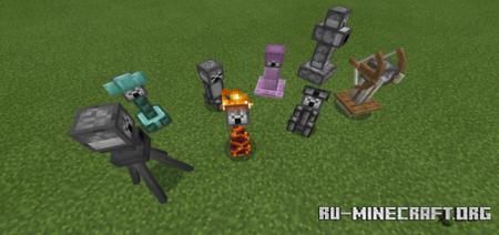 Скачать More Turrets для Minecraft PE 1.14