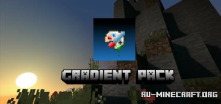 Скачать Gradient Pack [64x64] для Minecraft PE 1.14