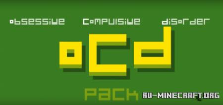 Скачать OCD – Texture Pack [16×16] для Minecraft PE 1.14