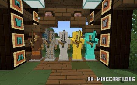 Скачать True Colors [32x] для Minecraft PE 1.13