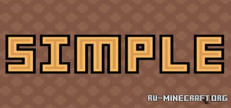 Скачать Digs Simple [8x8] для Minecraft PE 1.14