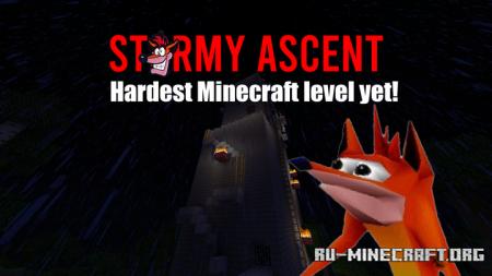 Скачать Stormy Ascent - Crash Bandicoot для Minecraft