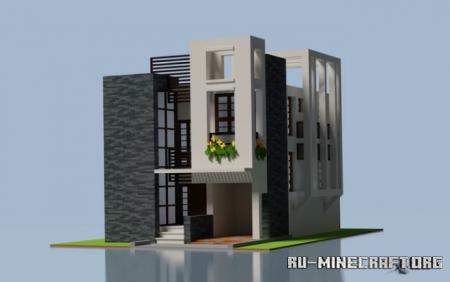 Скачать Contemporary Home для Minecraft