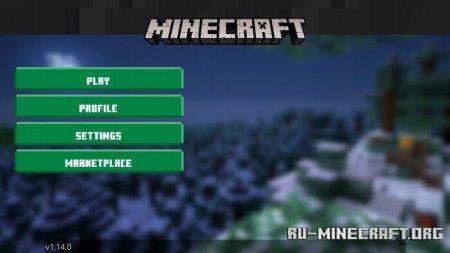Скачать Fly UI для Minecraft PE 1.14