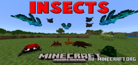 Скачать Insects для Minecraft PE 1.14