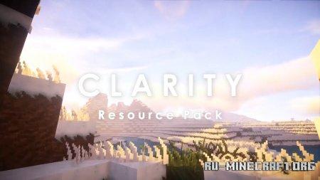 Скачать Clarity [32x] для Minecraft 1.12