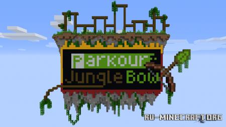 Скачать Parkour Jungle Bow для Minecraft