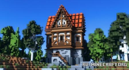 Скачать Medieval House by Wet для Minecraft