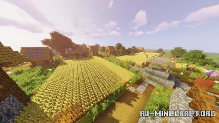 Скачать Reiches Schones Dorf для Minecraft