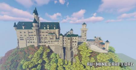 Скачать Schloss Neuschwanstein для Minecraft