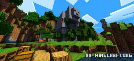 Скачать ESTN Shaders для Minecraft PE 1.14