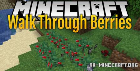 Скачать Walk Through Berries для Minecraft 1.15.1