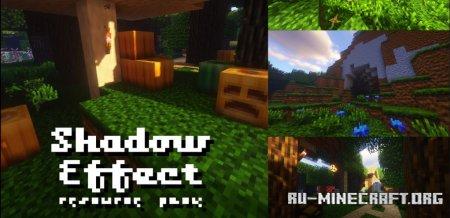 Скачать Shadow Effect [16x] для Minecraft 1.15