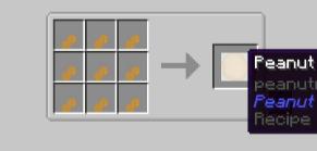Скачать Peanuts для Minecraft 1.15.2