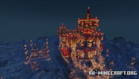 Скачать The Winter Palace and Winter Village для Minecraft