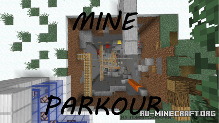 Скачать Mine Parkour by TommyCreeper для Minecraft