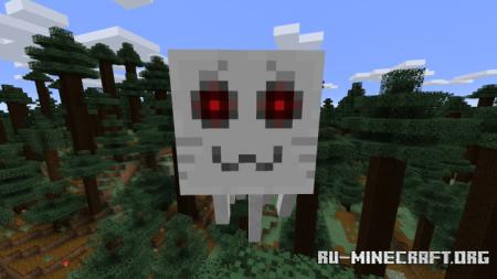 Скачать Better Ghasts для Minecraft PE 1.9