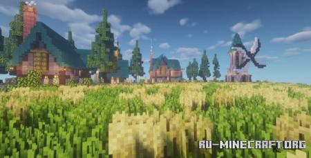 Скачать Lands of Undredal для Minecraft