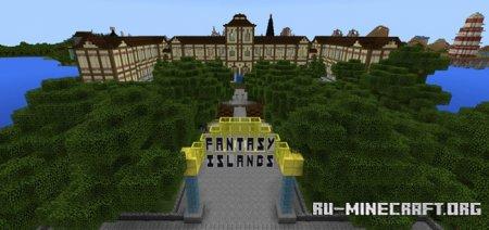 Скачать Fantasy Islands для Minecraft PE