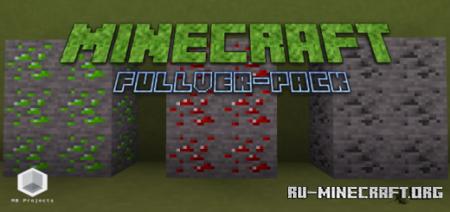 Скачать Fullver-Pack [16x16] для Minecraft PE 1.12
