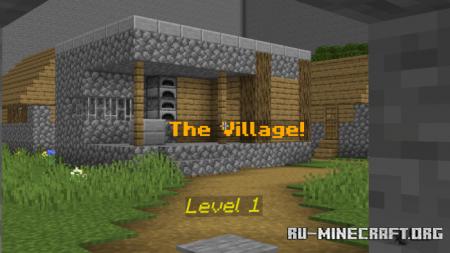 Скачать Find the Button by PixelPlay для Minecraft PE