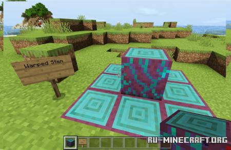 Скачать Fry's Nether для Minecraft PE 1.14