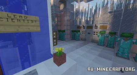 Скачать KitsuneWorks Outposts: Serenity для Minecraft