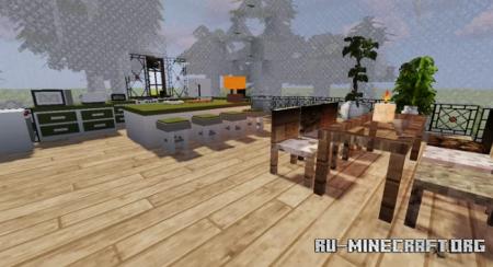 Скачать Bubble-House для Minecraft