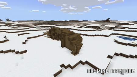 Скачать Infinite Snow World для Minecraft PE 1.14