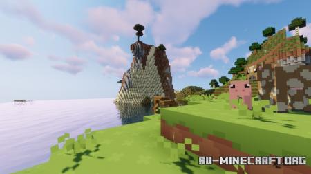 Скачать Digs Simple [8x] для Minecraft 1.16
