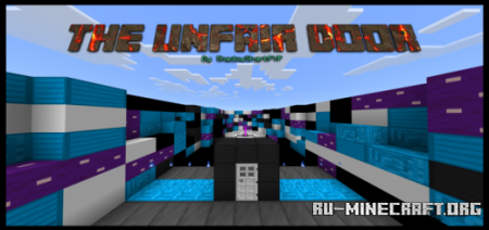 Скачать The UNFAIR Door для Minecraft PE